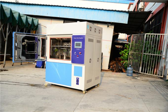 Single Cycle Xenon Test Chamber For Organic / Rubber / Plastic , Stainless Steel