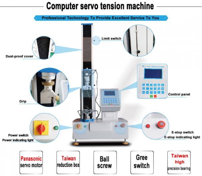 Electric Tensile Strength Test Machine With Panasonic Servo