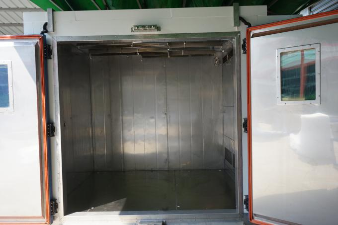 High Low Temperature Humidity Walk in Chambers , Environmental Testing Chambers for Rubber