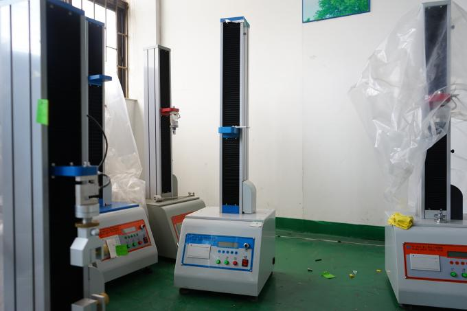 Single Column Leather Tensile Testing Machines 2KN With Microcomputer Display