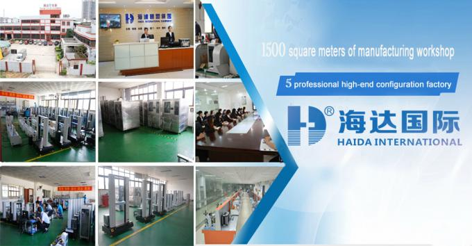 High Performance Electronic Textile Testing Machine , Automatic Fabric Testing Equipment