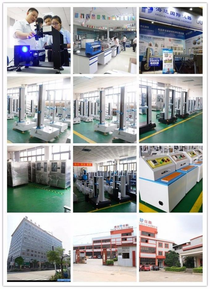 Electronic Double Column Universal Tensile Strength Testing Machine for Plastic / Rubber / Fabric