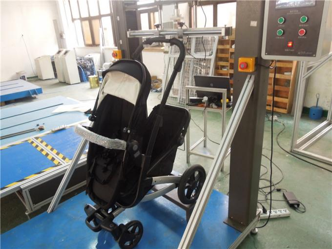 Durable Strollers Testing Machine For Hand Strollers Lift Down With ASTM Standards