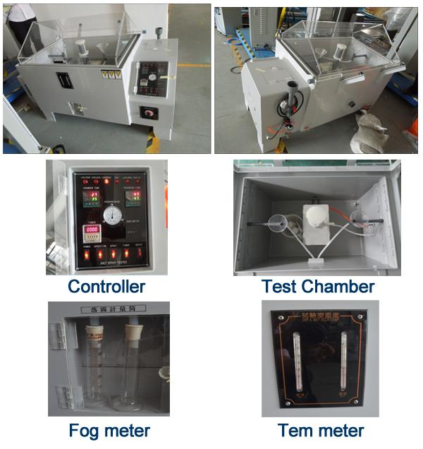 Continual/ cyclic 600Lspraying corrosion trial salt fog test chamber for stainless steel