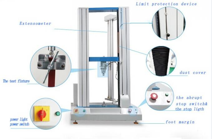 20KN Computer Tensile Testing Machines , Double Column Tensile Strength Testing Equipment