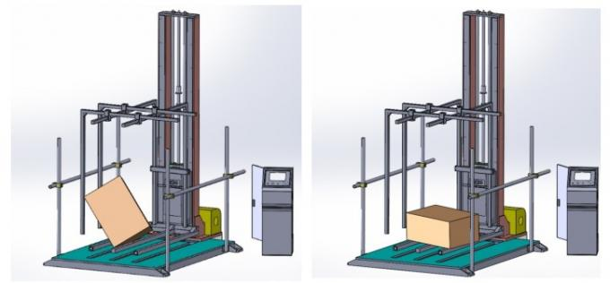 Accurate Package Drop Testing Equipment , Carton Drop Fall Impact Test Apparatus With Ista Astm