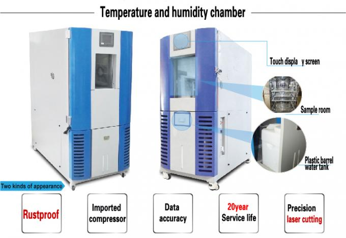408L Programmable Environment Temperature Humidity Chambers With BTHC Control System