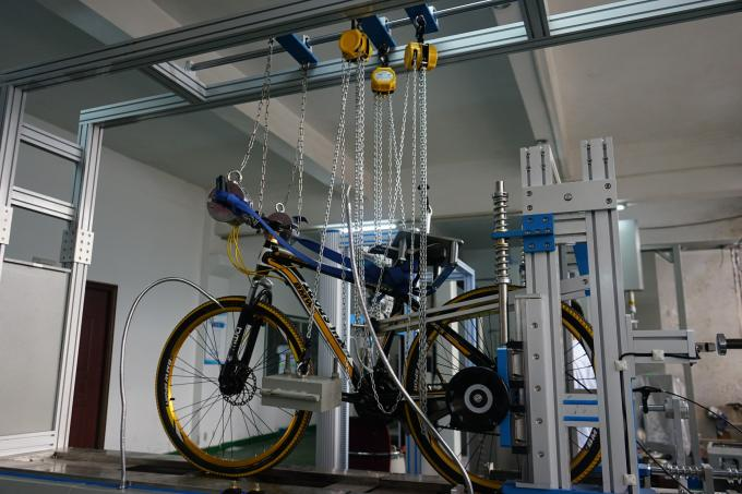 Automatic Bicycle Braking and Road Performance Testing Machine with Strollers Testeing Machine