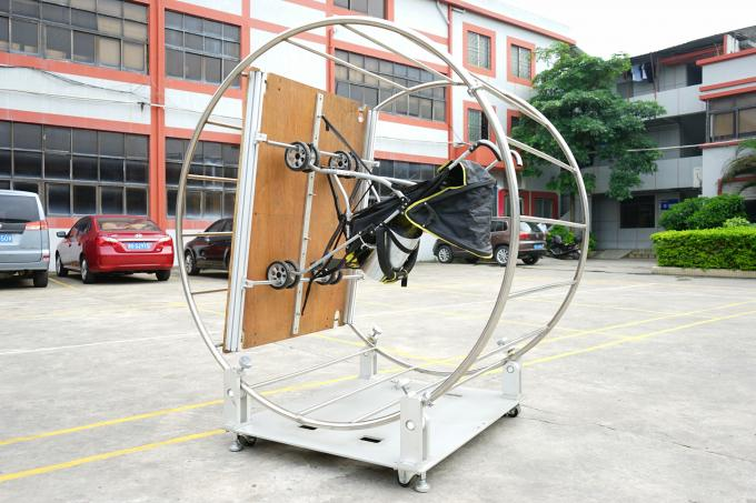 100 Degrees Turntable Strollers Testing Machine For Baby Carriages