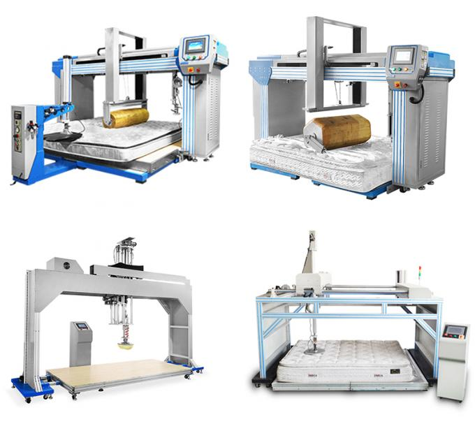 Customized Furniture Testing Machines , Electronic Cornell Mattress Spring Fatigue Testers