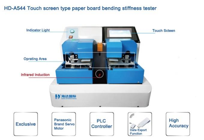 Touch Screen Type Paper Board Bending Stiffness Tester By PLC Control