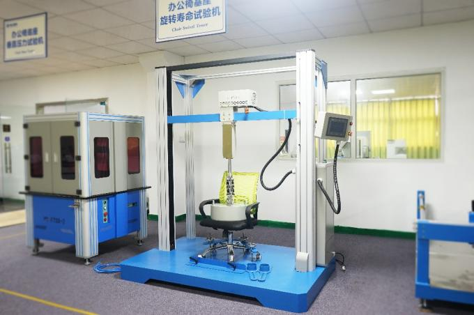 BIFMA X5.1-2002 Furniture Testing Machines , Office Chair Rotating Testing Machine