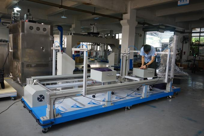 Abrasion Resistance Furniture Testing Machines For Office Chair Castor With Caster