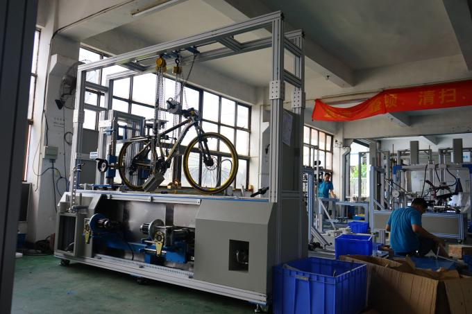PC Control Bicycle Road Dynamic Test Machine for Bike Brakes Performance Test