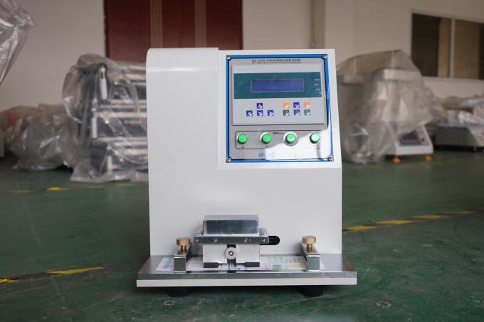 Microcomputer Paper Testing Equipments , Fastness Ink Rub Tester