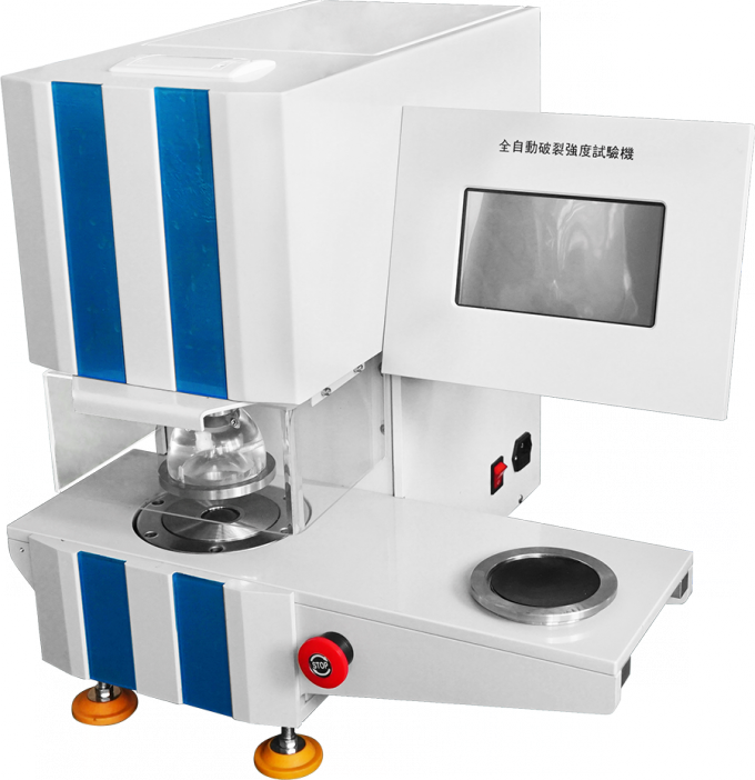 Burst Strength Paper Testing Equipments High Pressure With LCD Display