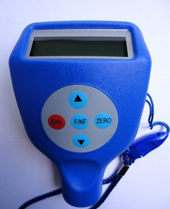 Portable Plastic Testing Machine , Digital Coating Thickness Gauge