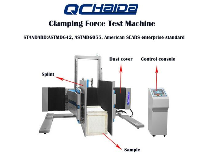 Clamp Compression Paper Testing Equipments Method of Large Products
