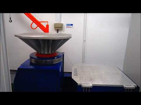 Electrodynamics Vibration Test System / Vibration Shaker Table High Frequency Vertical And Horizontal