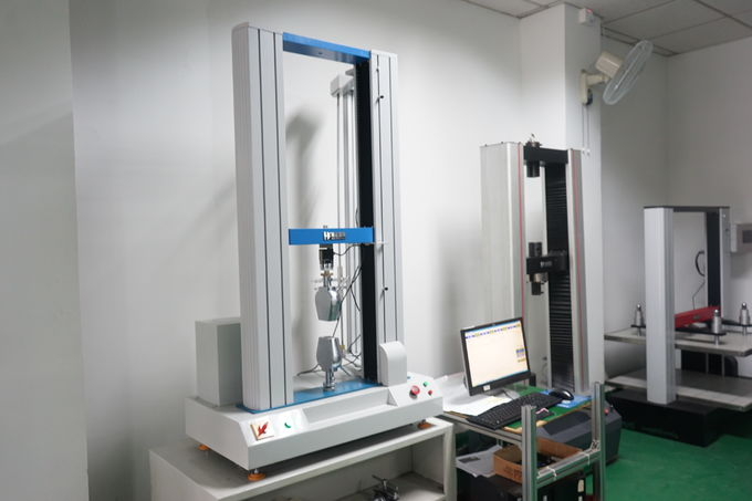 Double Column Tensile Testing Machines for Rubber / Plastic / Fabric Strength Testing