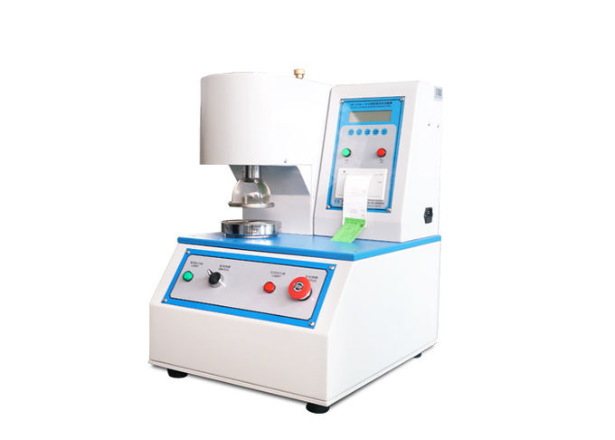 LCD Display Paper Testing Equipments Burst Strength With Stainless Steel SUS304