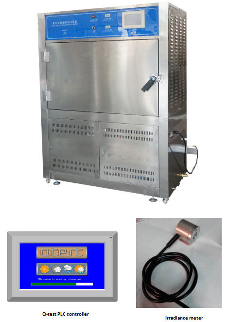 PID SSR Control UV Aging Test Chamber , Accelerated Weather Testing UV Test Machine Price