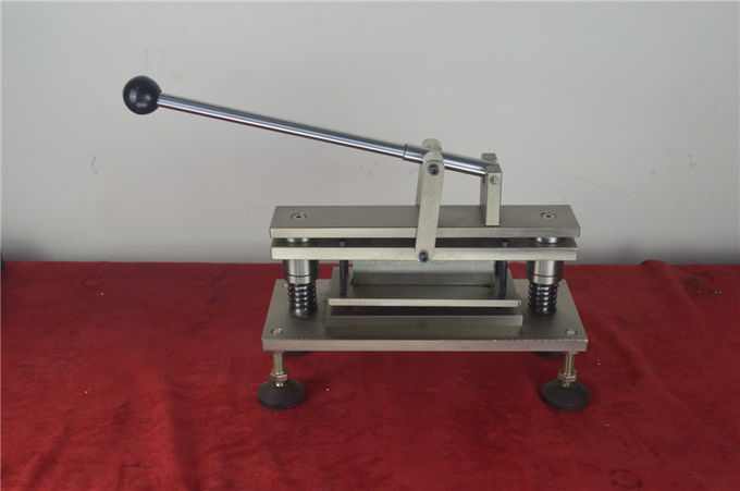 Electronic Paper Testing Equipments , Paper Ring Crush Sample Cutter With Precise Blade