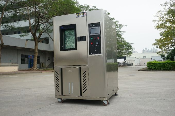 Customized 225L Temperature Humidity Chambers , Stainless Steel Plate Testing Equipment