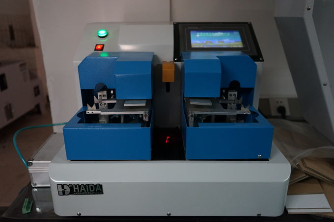 LCD Display Paper Testing Equipments , Paper Board Bending Stiffness Tester