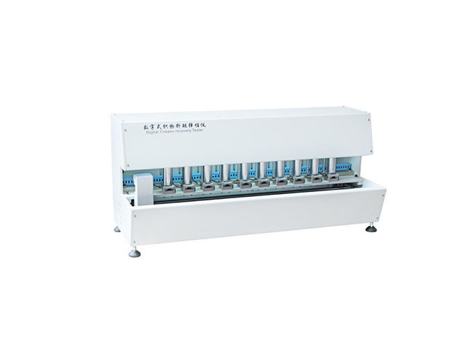 10N Hammer Textile Testing Equipment , Digital Fabric Crease Recovery Tester