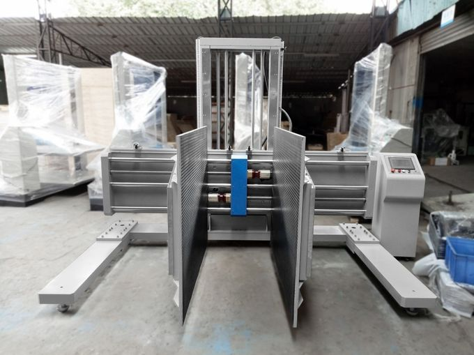 1T PLC Control Packaging Testing Equipment , ASTM D6055 Package Clamping Testing Machine
