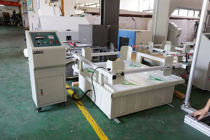 Simulation Transporation Vibration Table Testing Equipment ISTA 1A Constant Frequency Rotary Motion