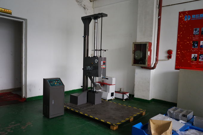 Digital Paper Testing Equipments , ASTM D5276 Electronic Package Droping Testing Machine