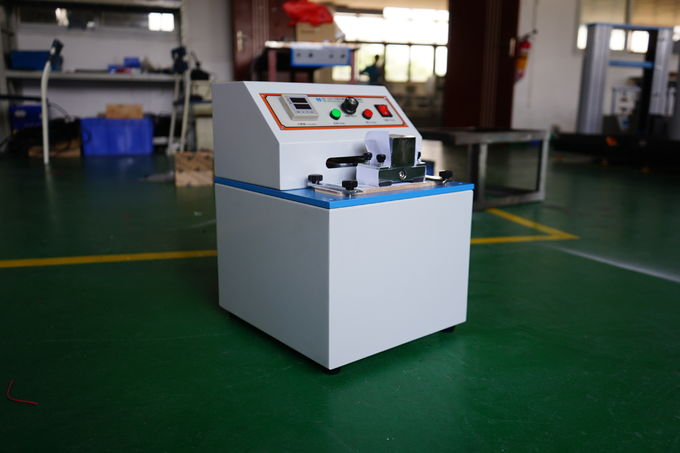 LCD Display Ink Rub tester , Electronic Paper Testing Equipments