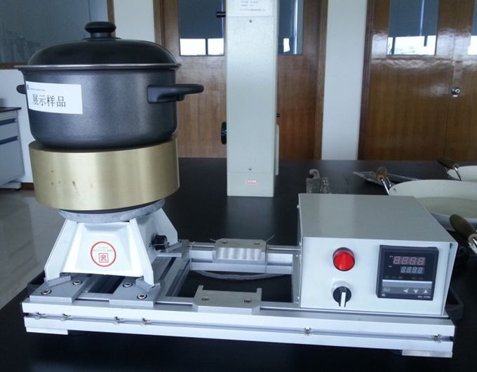 Aluminum Block Cookware Testing With Heater And Thermo Controller