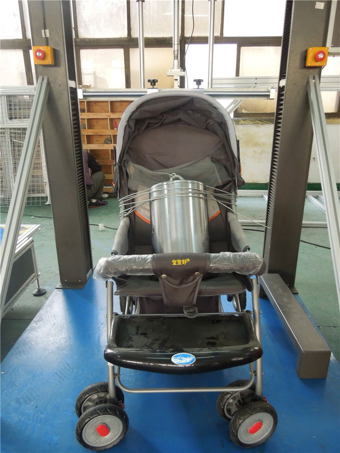 Hand Strollers Testing Machine Durable WITH pneumatic cylinder driven