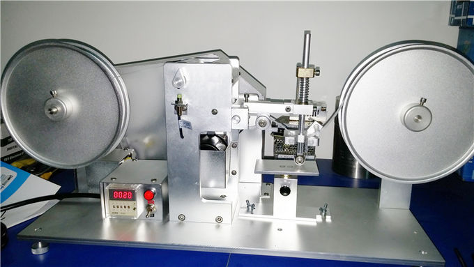 Electric Rubber Testing Machine , RCA Scroll Abrasion Testing Equipement